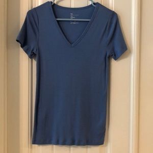 Periwinkle blue, fitted Tee